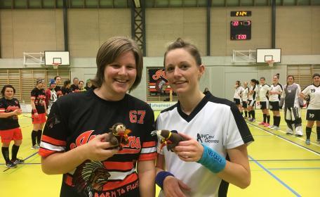 Bestplayer: Isabelle Millius und Tanja Herrmann